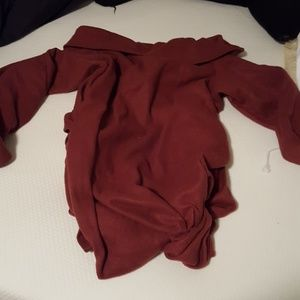 Other - Maroon arm blanket